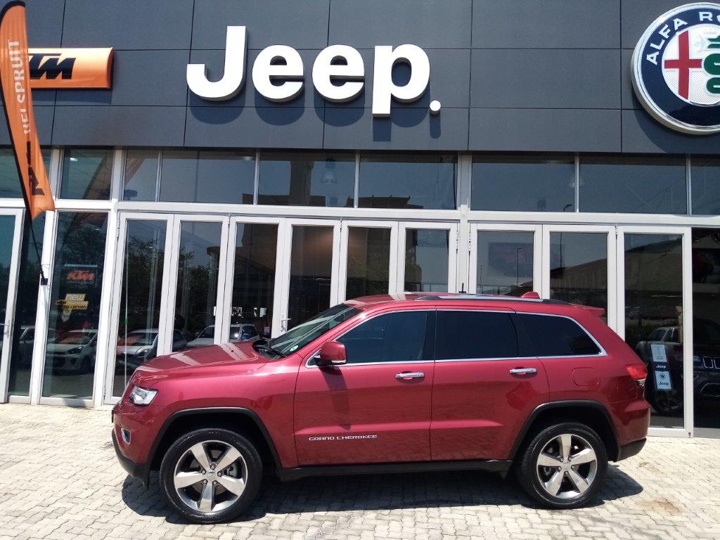 2018 Grand Cherokee  3.0 CRD Overland 4x4 Automatic